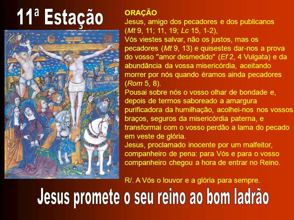 Jesus promete o seu reino ao bom ladrão