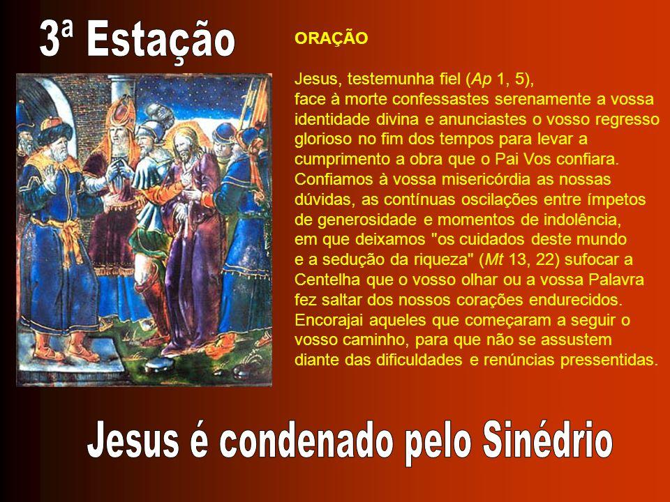 Jesus é condenado pelo Sinédrio