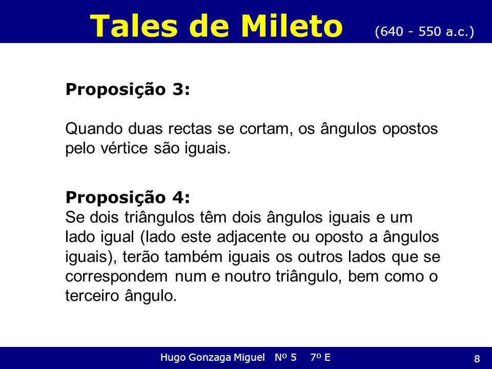 Hugo Gonzaga Miguel Nº 5 7º E