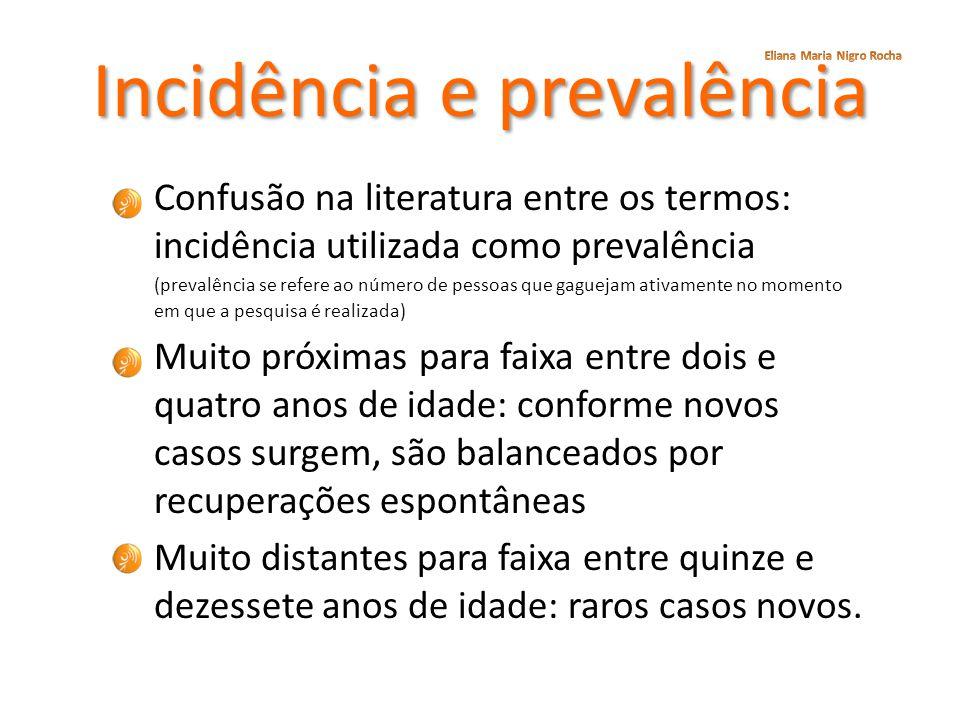 Incidência e prevalência
