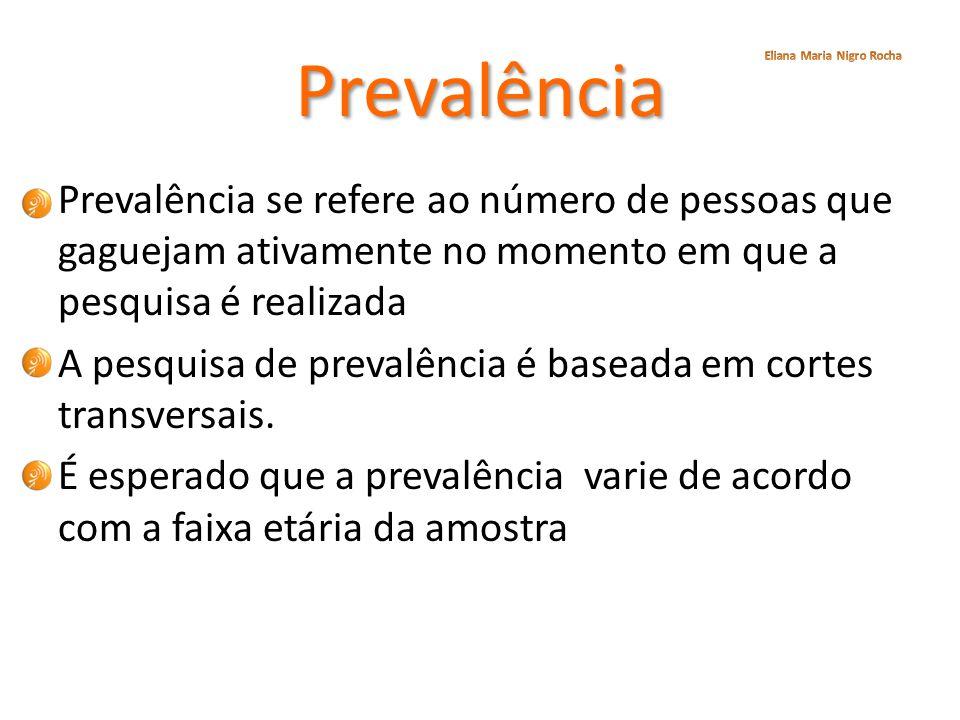 Prevalência Eliana Maria Nigro Rocha.