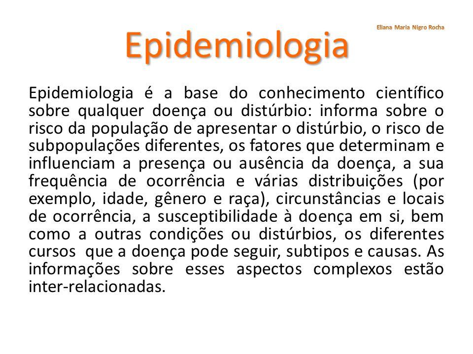 Epidemiologia Eliana Maria Nigro Rocha.