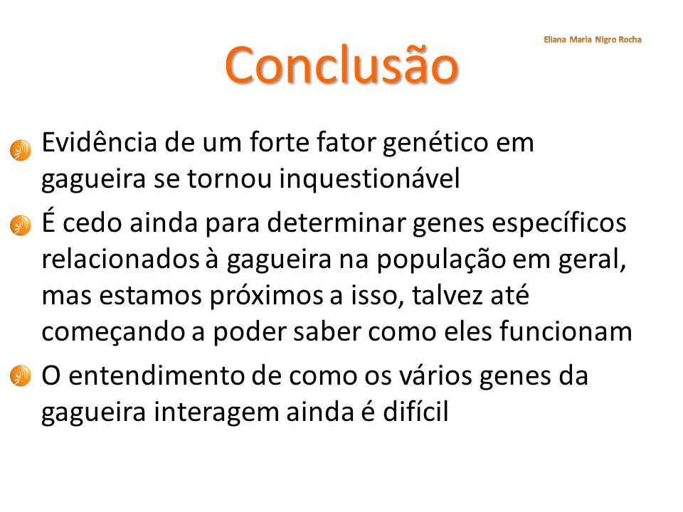 Conclusão Eliana Maria Nigro Rocha.