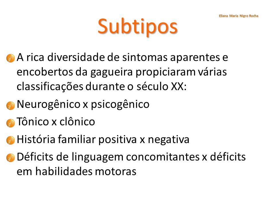 Subtipos Eliana Maria Nigro Rocha.