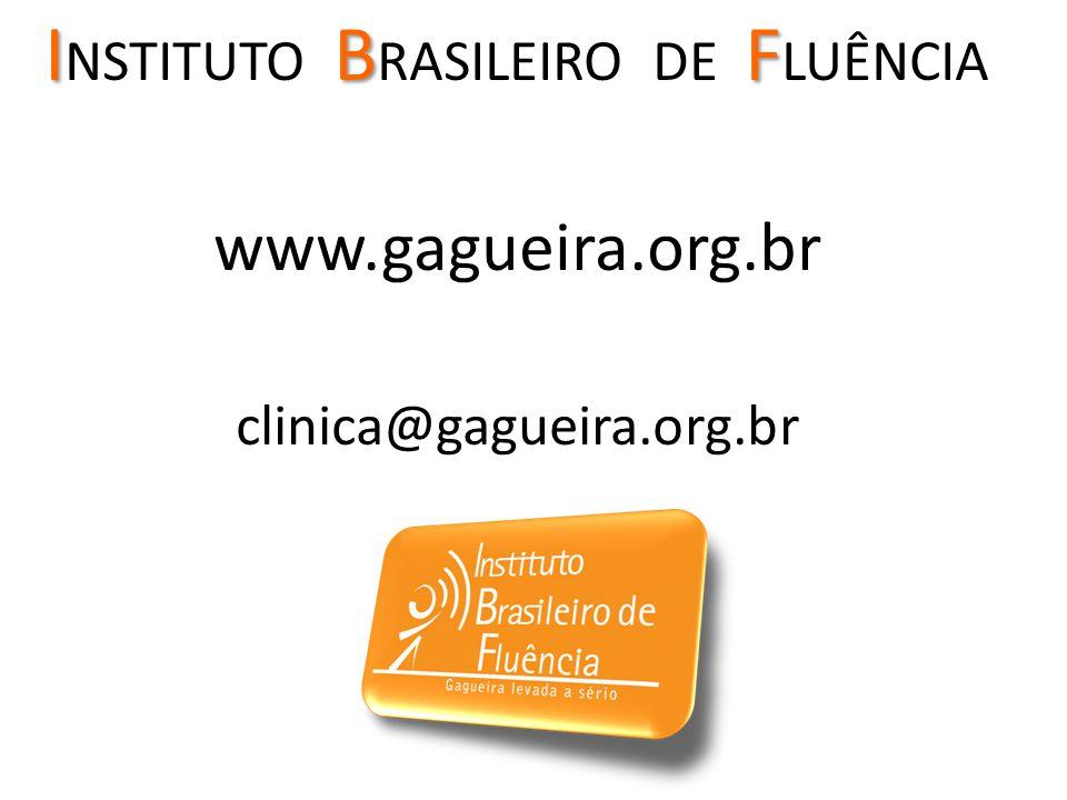 INSTITUTO BRASILEIRO DE FLUÊNCIA