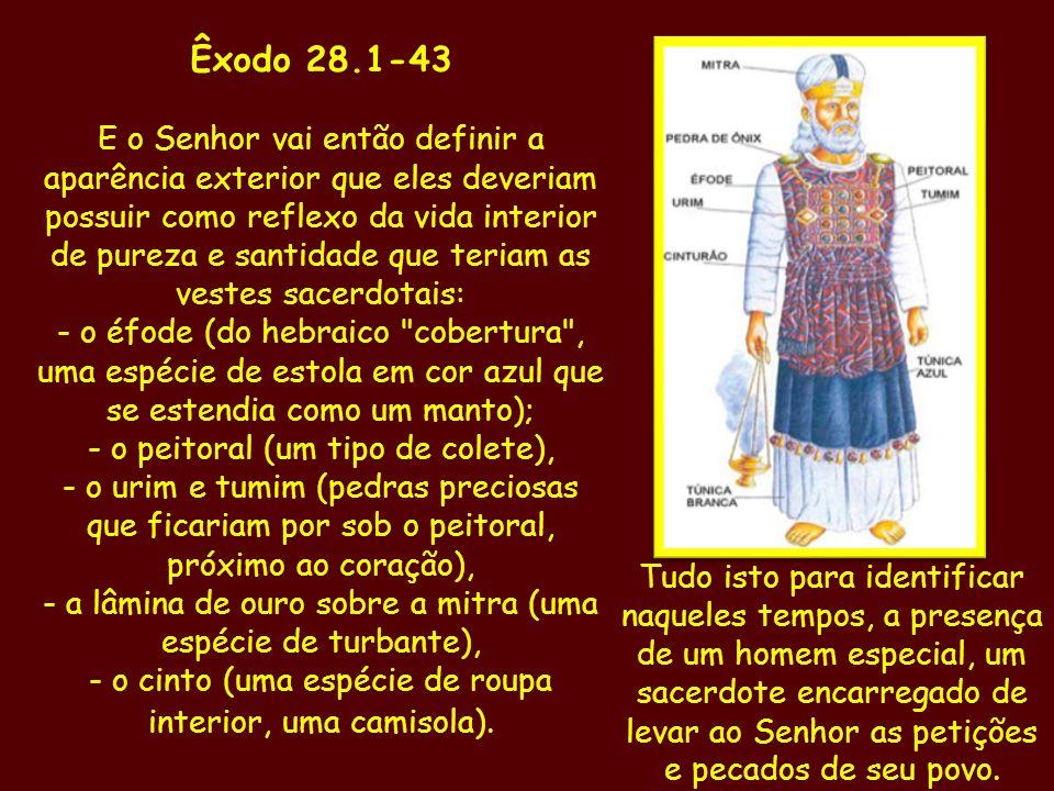 Êxodo 28.1-43