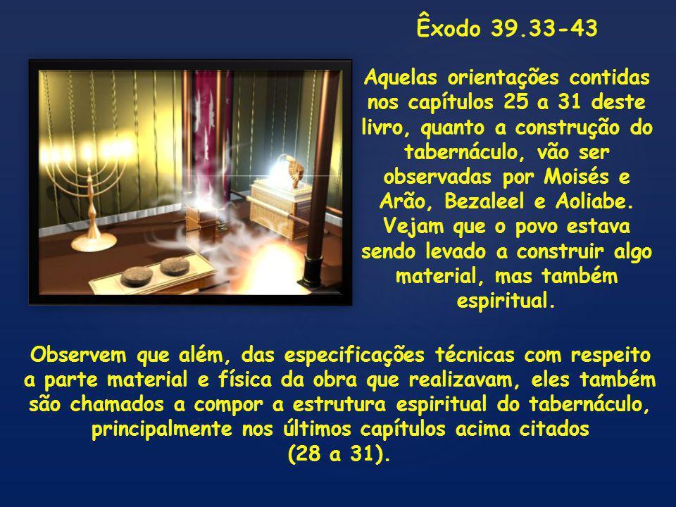 Êxodo 39.33-43