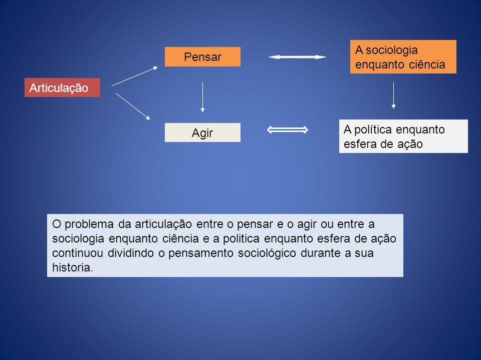 A sociologia enquanto ciência
