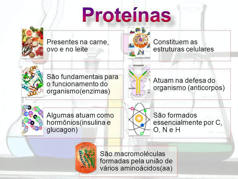 Proteínas Presentes na carne, ovo e no leite