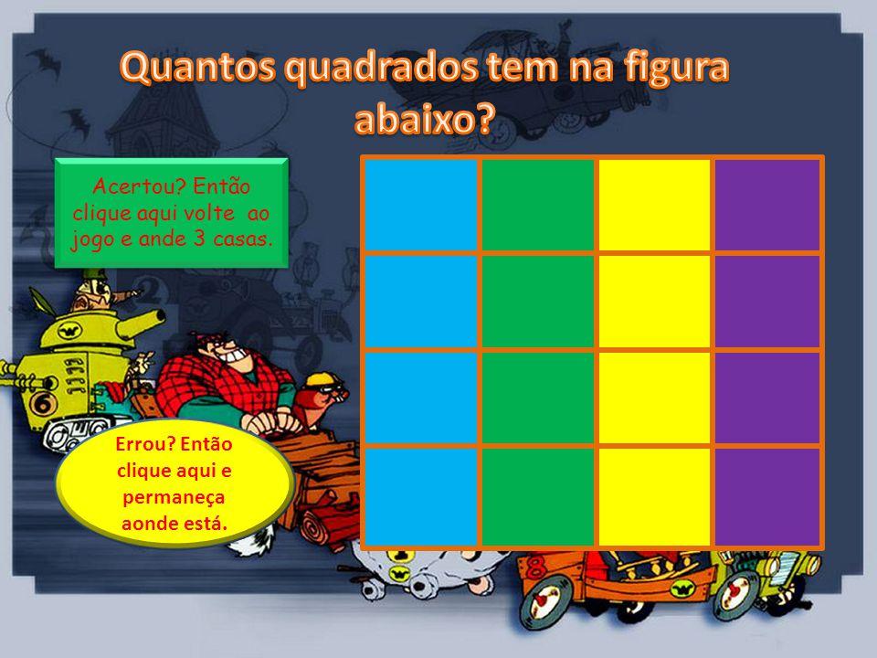 Quantos quadrados tem na figura abaixo