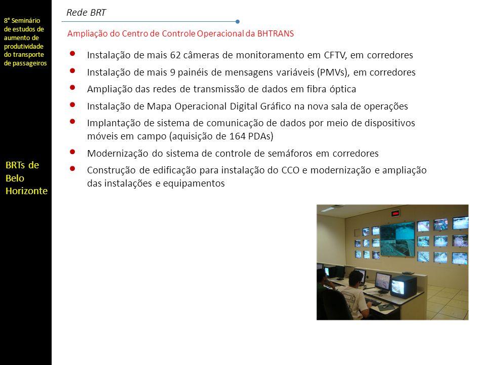Instalação de mais 62 câmeras de monitoramento em CFTV, em corredores