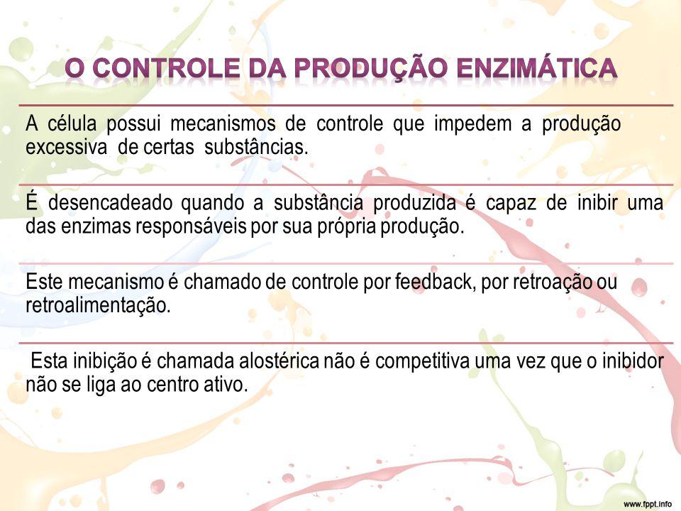 O CONTROLE DA PRODUÇÃO ENZIMÁTICA