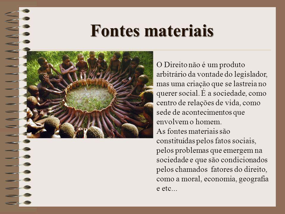 Fontes materiais