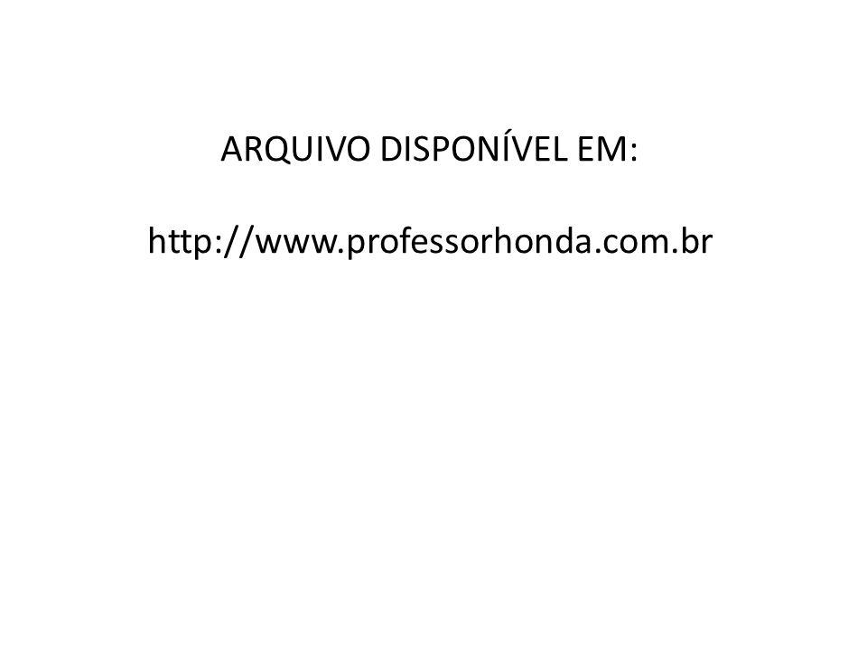 ARQUIVO DISPONÍVEL EM: