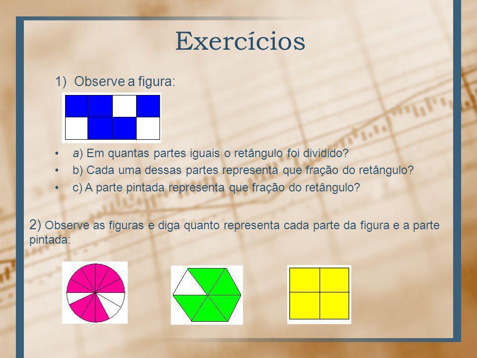 Exercícios 1) Observe a figura: