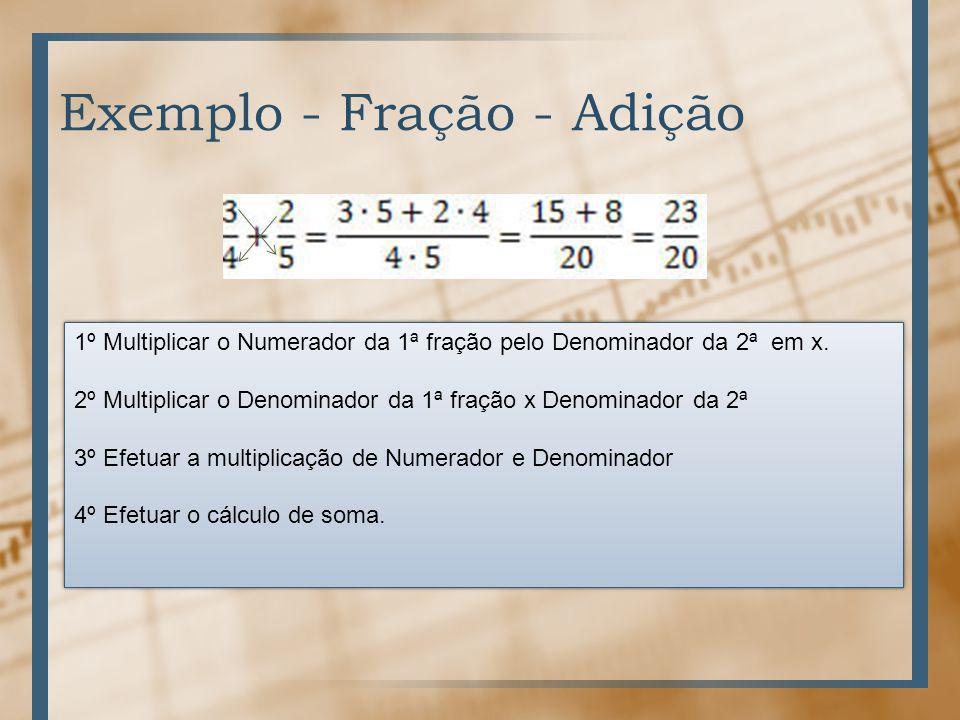 Matemática – Aula 3 Frações Adição – Subtração – Multiplicação e Divisão Prof. Procópio. - ppt ...