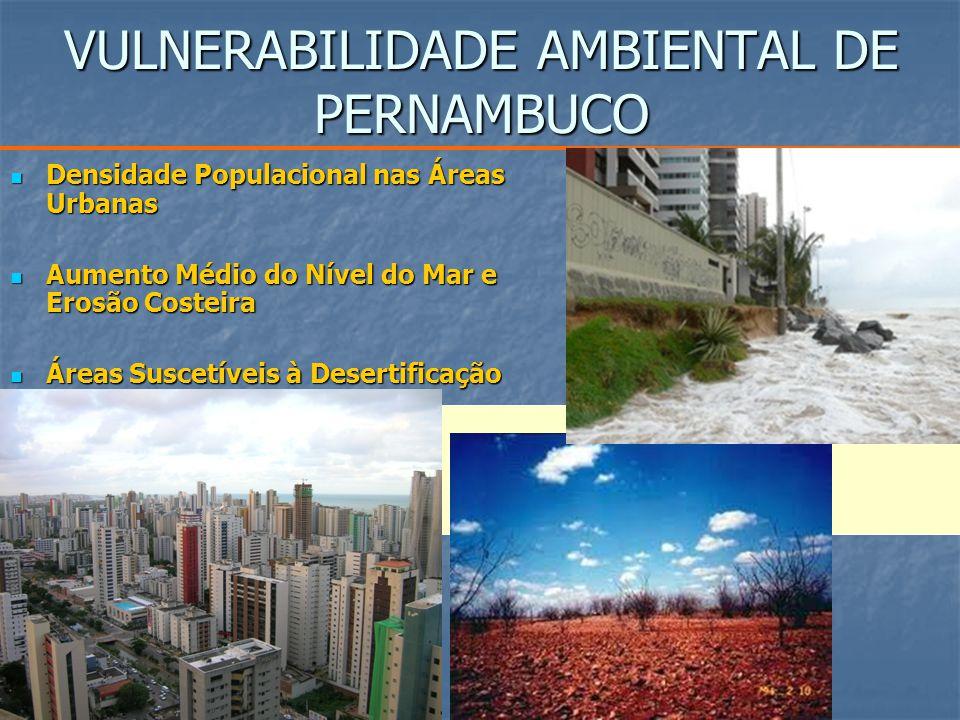 VULNERABILIDADE AMBIENTAL DE PERNAMBUCO