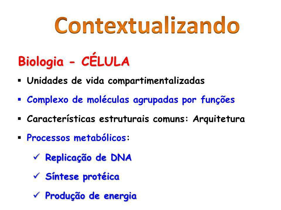 Contextualizando Biologia - CÉLULA