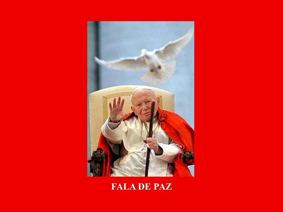FALA DE PAZ