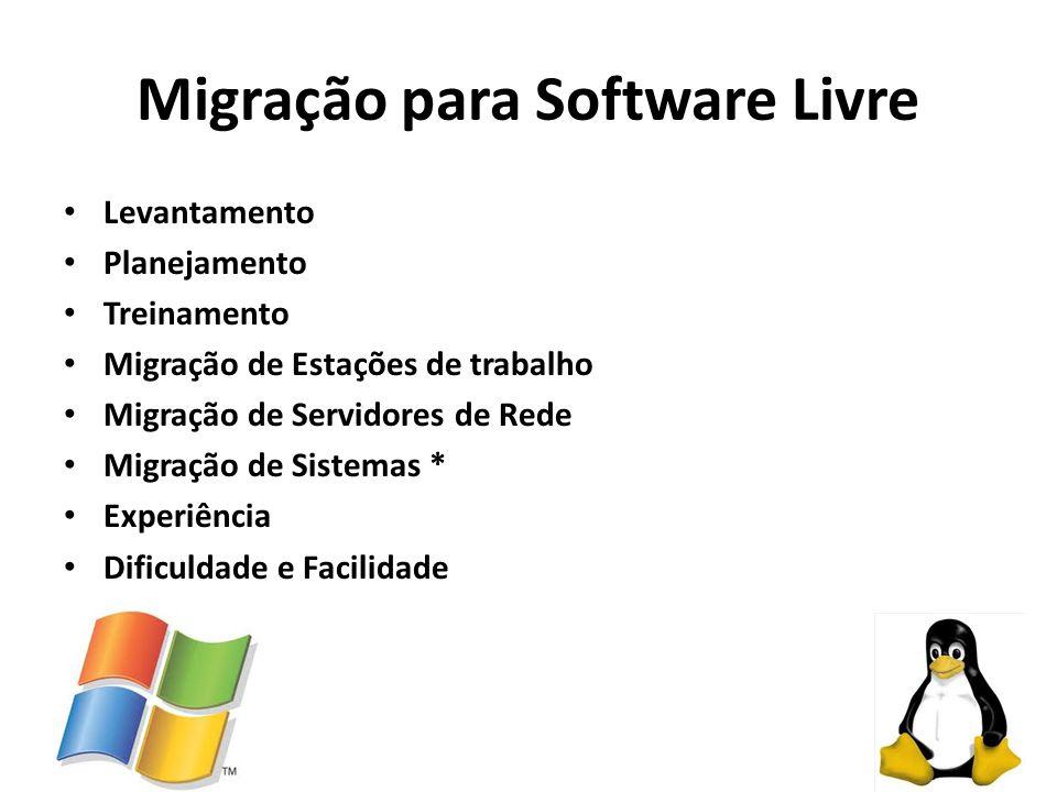 Migração para Software Livre