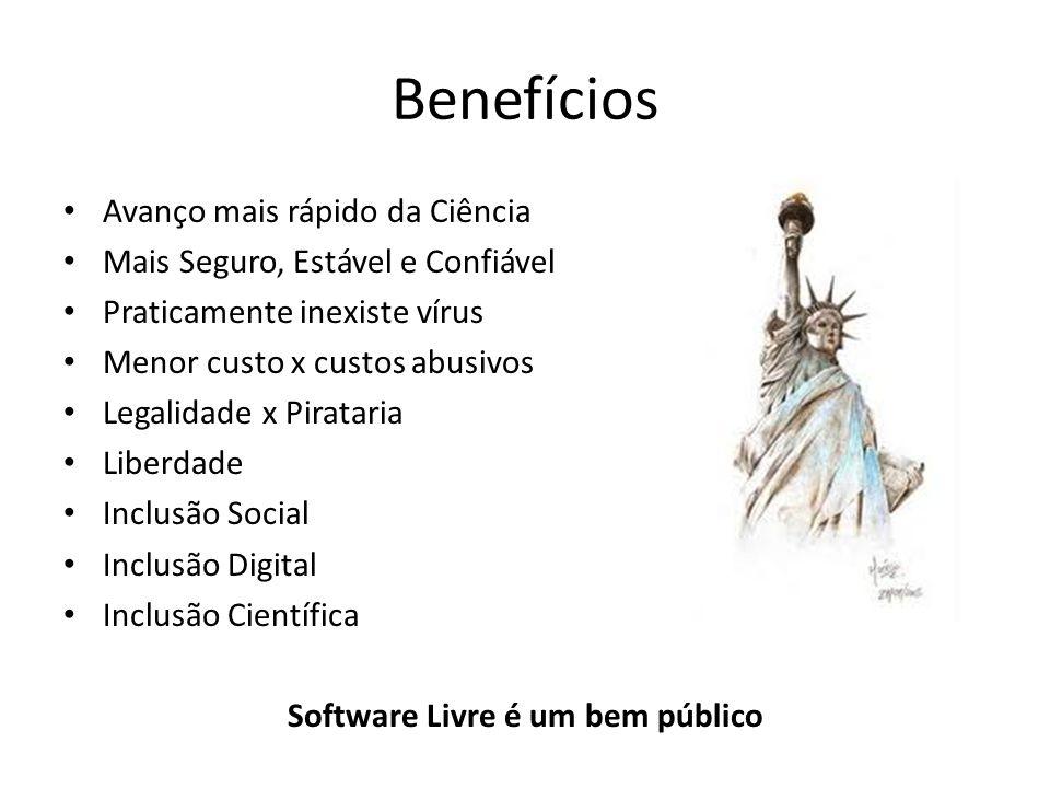 Software Livre é um bem público