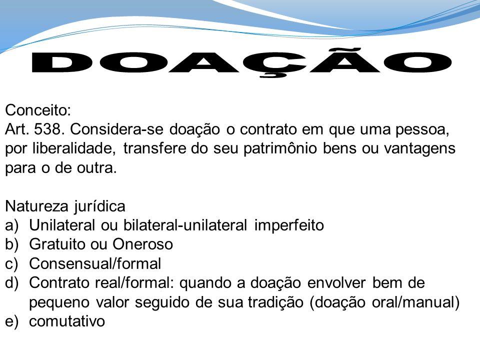 DOAÇÃO Conceito: