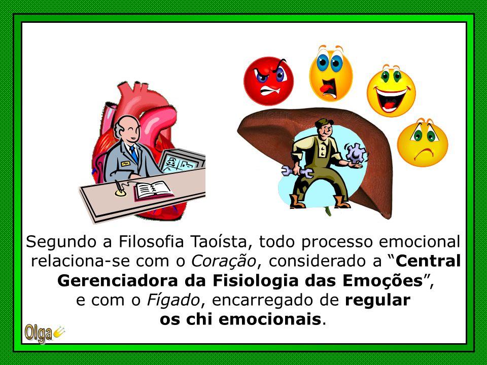 Segundo a Filosofia Taoísta, todo processo emocional