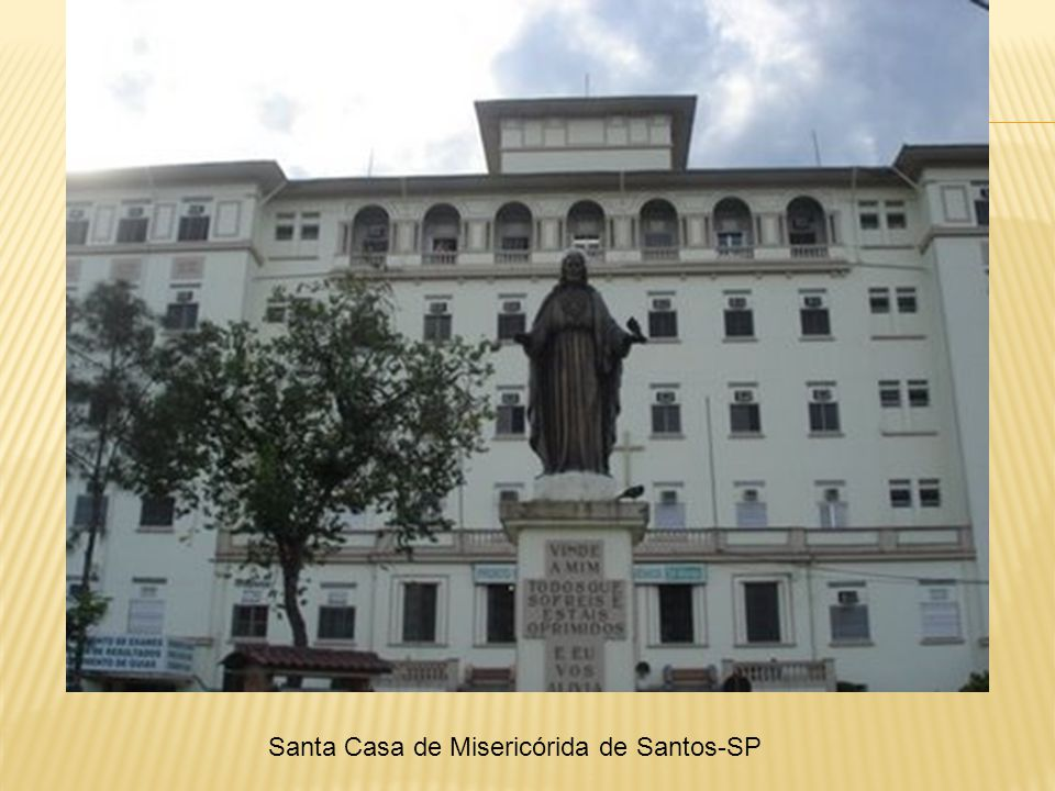 Santa Casa de Misericórida de Santos-SP