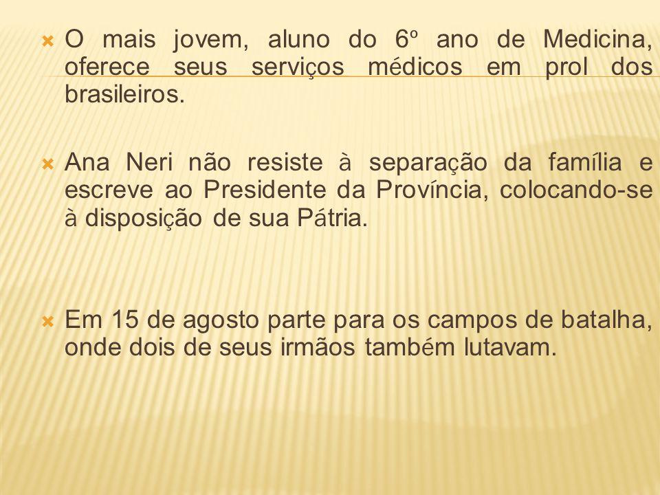 O mais jovem, aluno do 6º ano de Medicina, oferece seus serviços médicos em prol dos brasileiros.