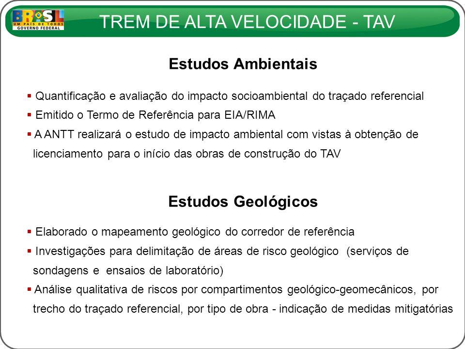 Estudos Ambientais Estudos Geológicos