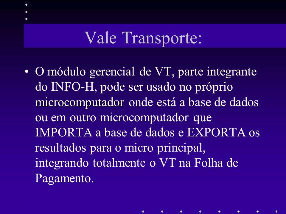 Vale Transporte: