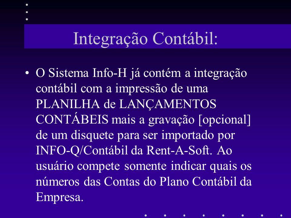 Integração Contábil: