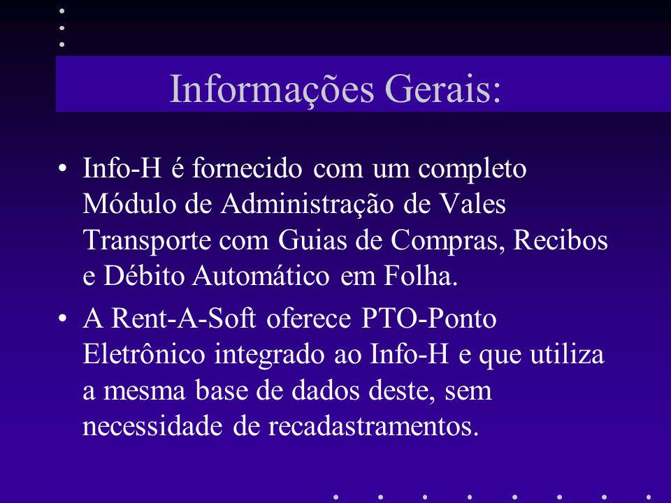 Informações Gerais: