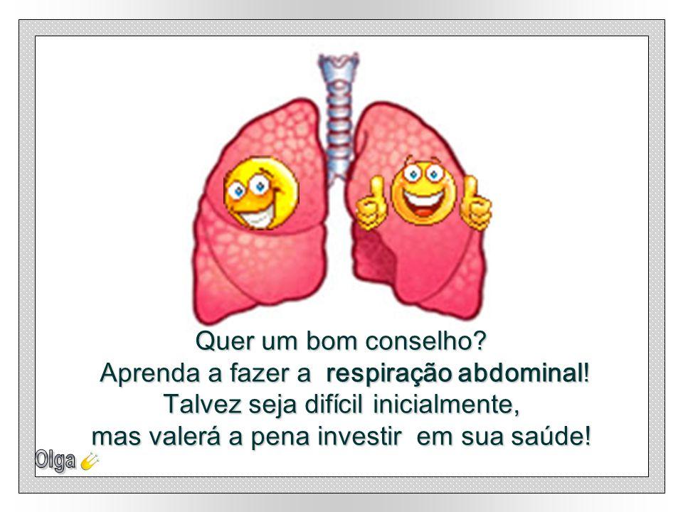 Aprenda a fazer a respiração abdominal!