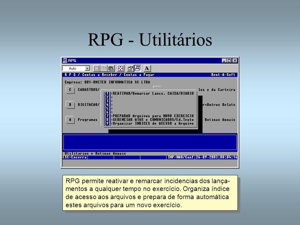 RPG - Utilitários