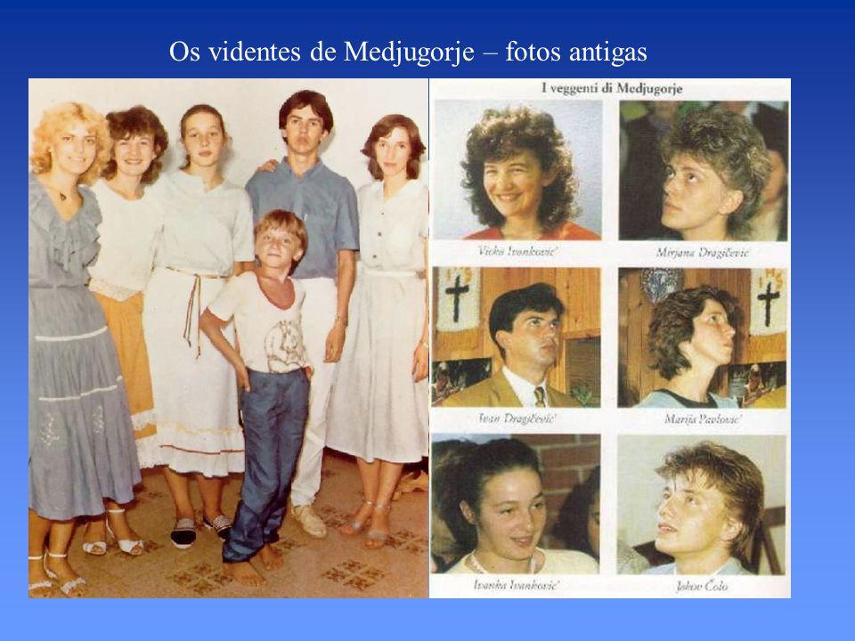 Os videntes de Medjugorje – fotos antigas