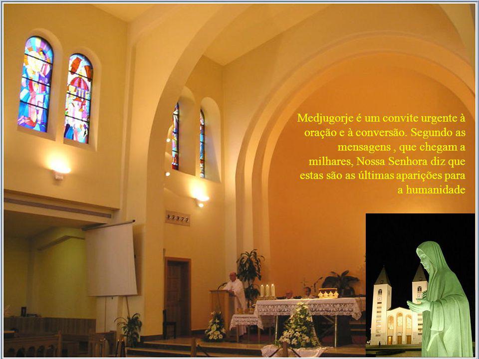 Medjugorje é um convite urgente à oração e à conversão