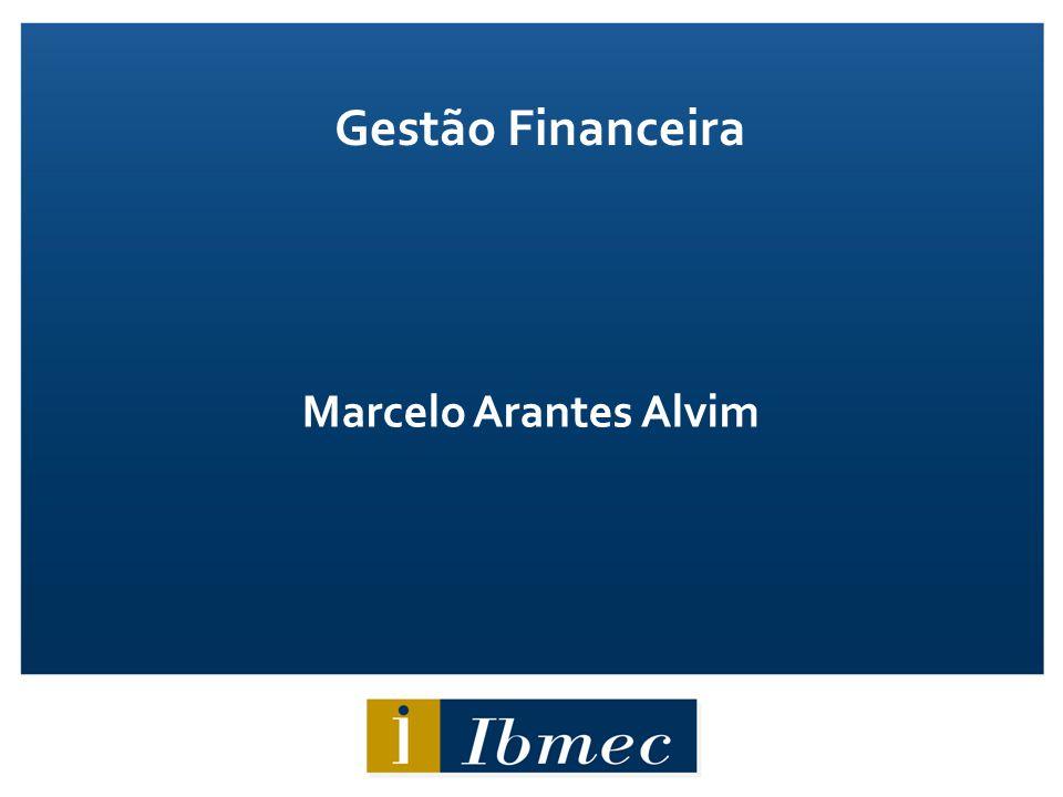 Gestão Financeira Marcelo Arantes Alvim