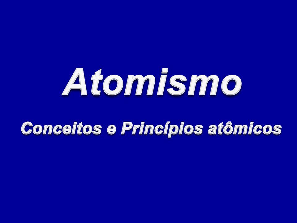 Conceitos e Princípios atômicos