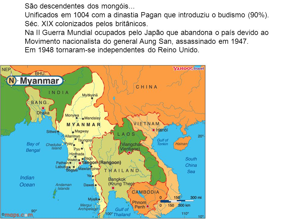 São descendentes dos mongóis...