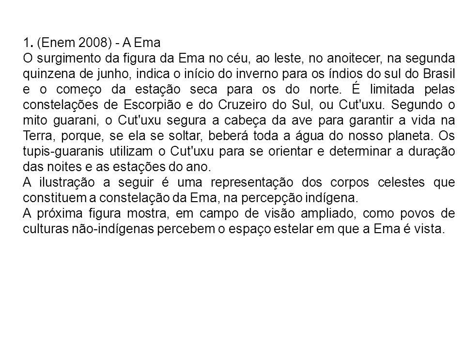 1. (Enem 2008) - A Ema