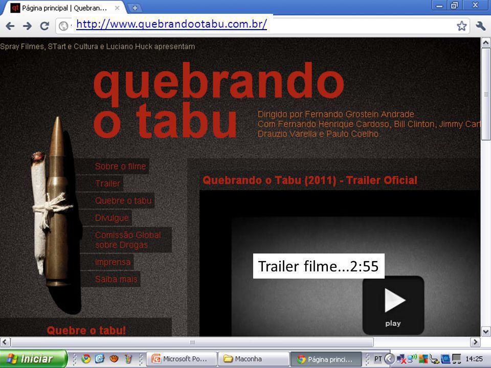 http://www.quebrandootabu.com.br/ Trailer filme...2:55