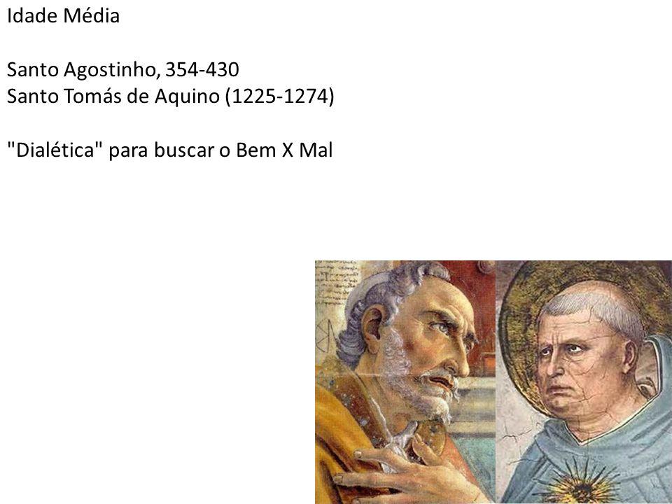 Idade Média Santo Agostinho, 354-430.