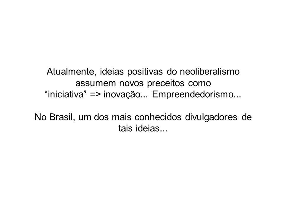 iniciativa => inovação... Empreendedorismo...