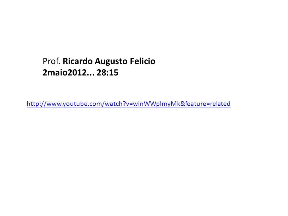 Prof. Ricardo Augusto Felicio 2maio2012... 28:15