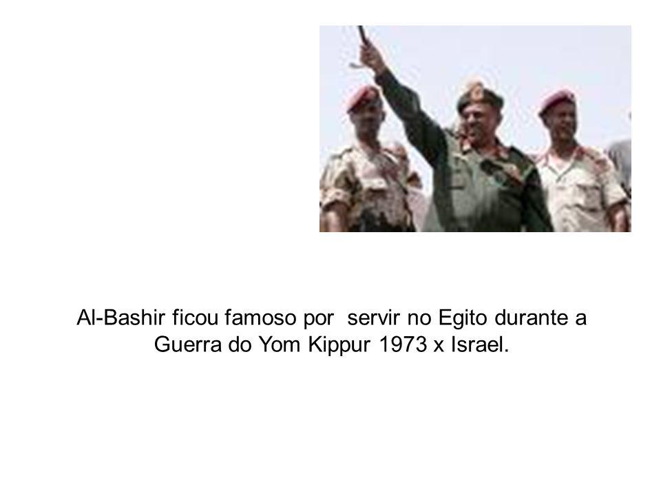 Al-Bashir ficou famoso por servir no Egito durante a