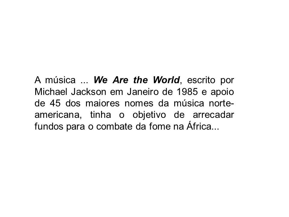 A música ...