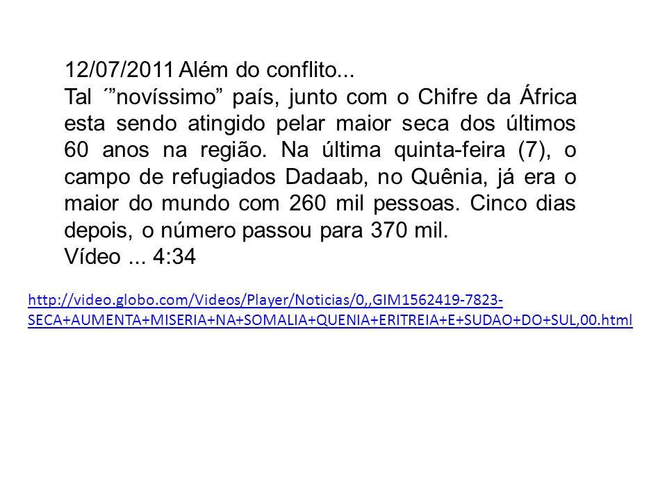 12/07/2011 Além do conflito...