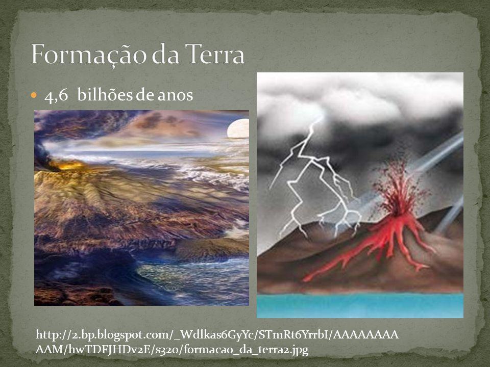 Formação da Terra 4,6 bilhões de anos