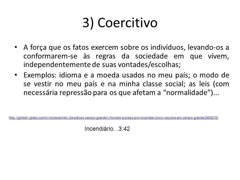 3) Coercitivo